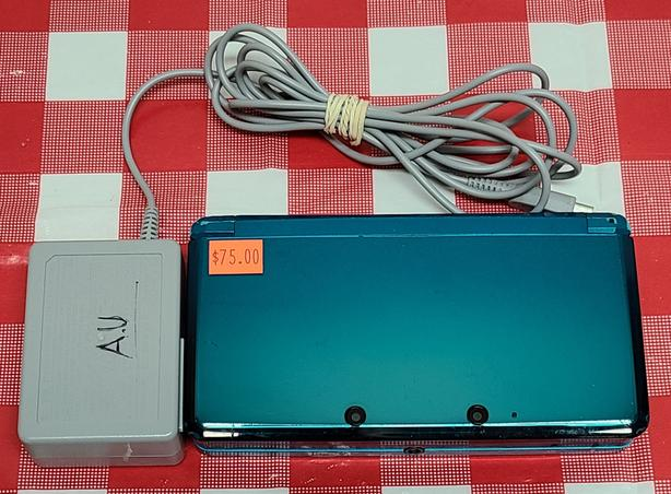 Teal Nintendo 3DS Console - Tax In!
