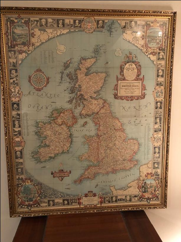 Antique Map from a Heritage Collection