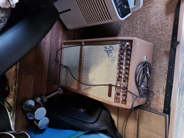 fender  guitar  amp duel chips