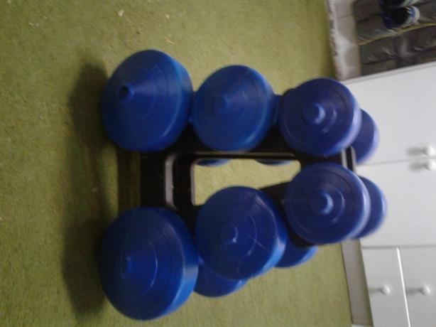 3 TIER HAND WEIGHT SET