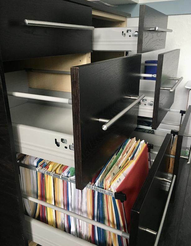 Office drawers with File drawer