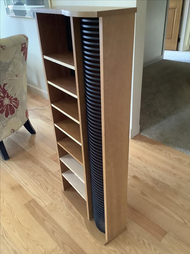 Bookcase with extra storage