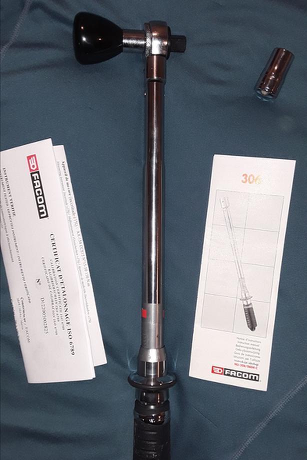 Facom 306 precision torque wrench (1/2 in)