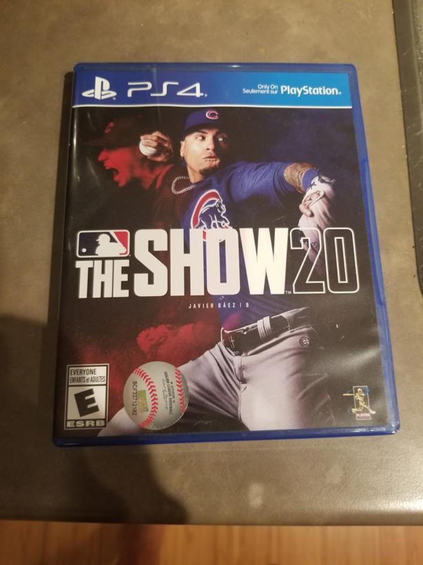 MLB The Show PS4 Mint Condition