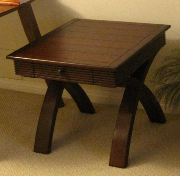 FREE: Solid wood end table