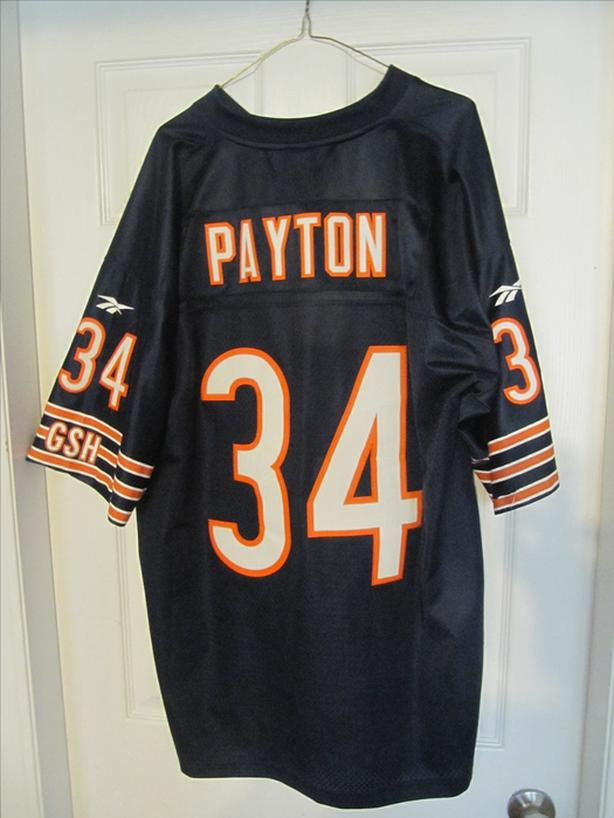 Walter Payton Chicago Bears Gridiron Collection Reebok Jersey. Adult XL