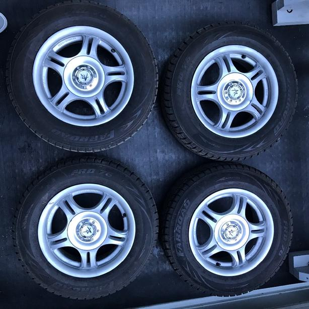 "13"" American Racing Wheels, Newer Winter tires"