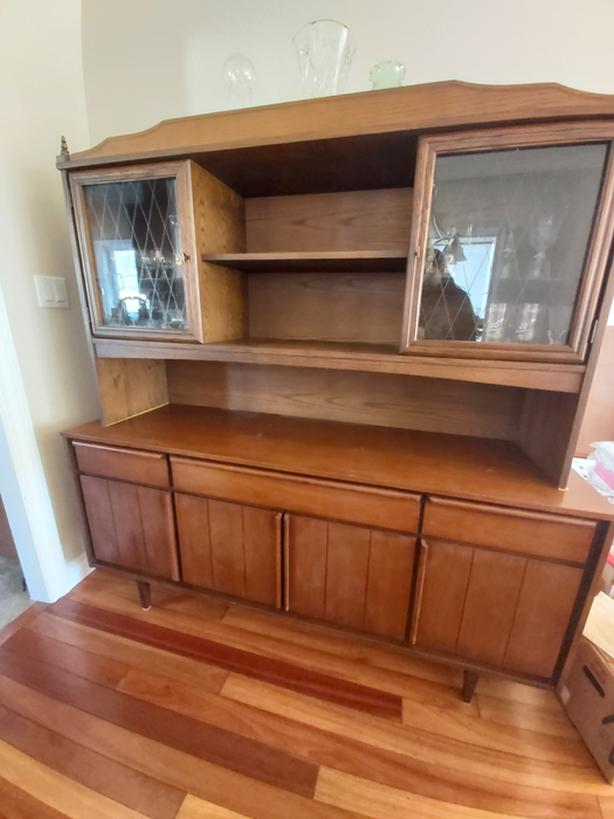Mid-century Modern Sideboard and Hutch