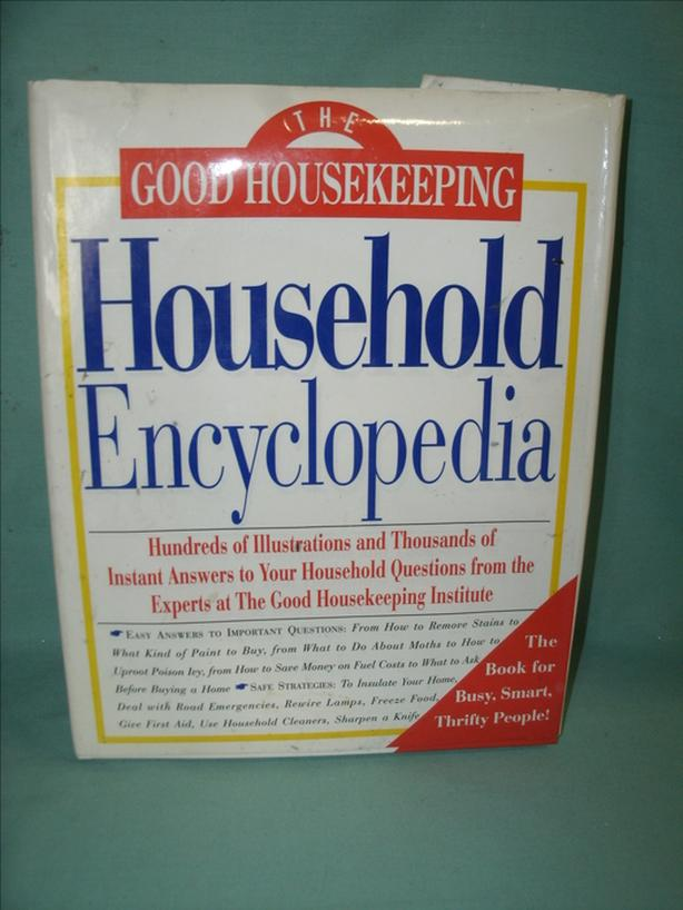 BOOK: The GOOD HOUSEKEEPING Household Encyclopedia