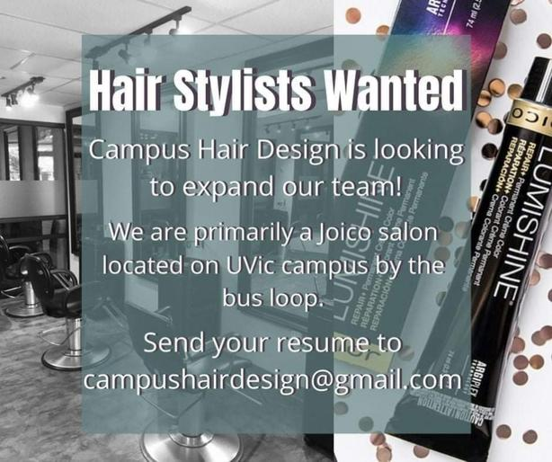 WANTED: Hair stylists wanted!