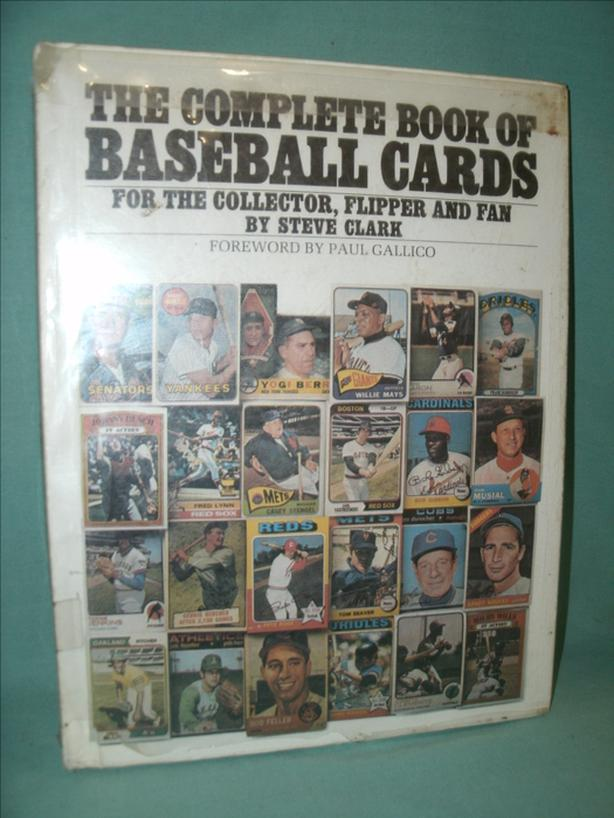 Collectible Book: The Complete Book of Baseball Cards