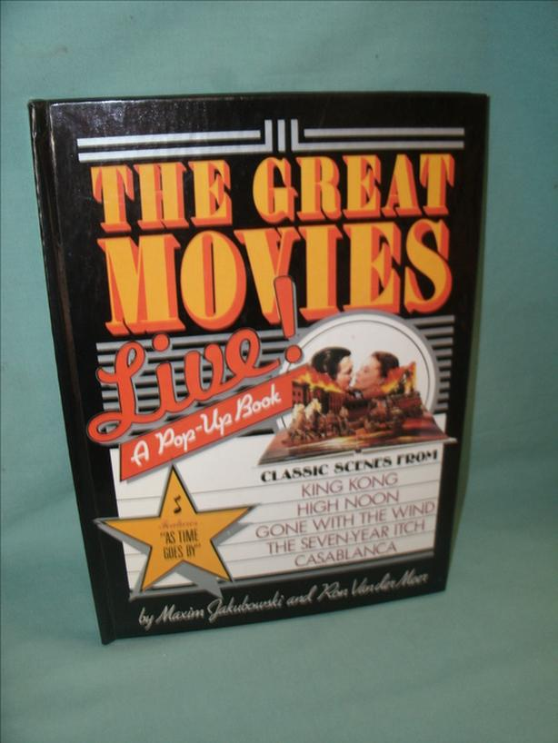 Collectible Book: The Great Movies Live - A Pop-Up Book