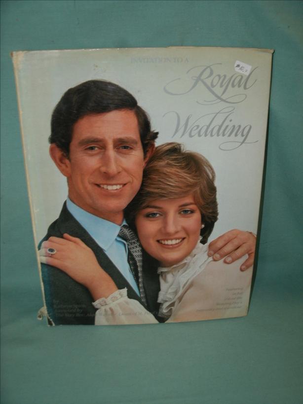 Collectible Book: Invitation to A Royal Wedding