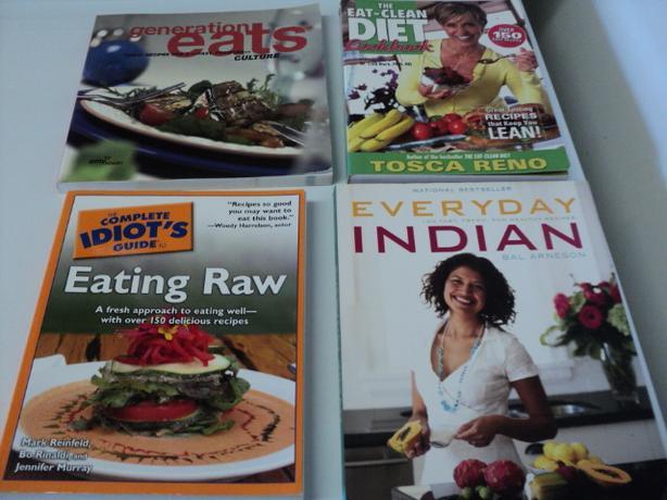 HEALTHY EATING BOOKS $4 EACH
