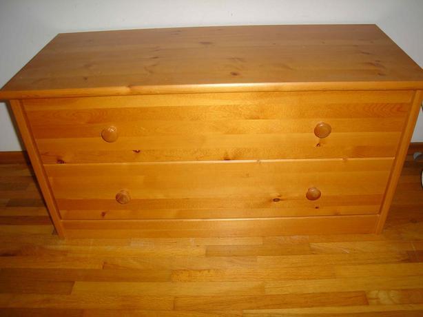 Pine Storage Dresser For Shoes