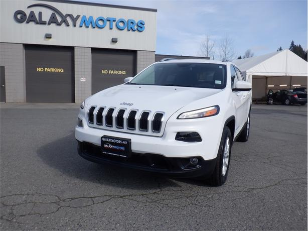 2016 Jeep Cherokee NORTH-4WD, BLUETOOTH, USB