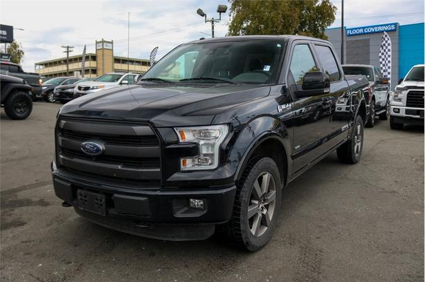 2016 Ford F-150 SUPERCREW 5.5-FT. BED 4WD