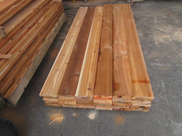 **** Lift Lot Sale 1x6 x 6' Cedar Economy Grade Fencing Boards ****