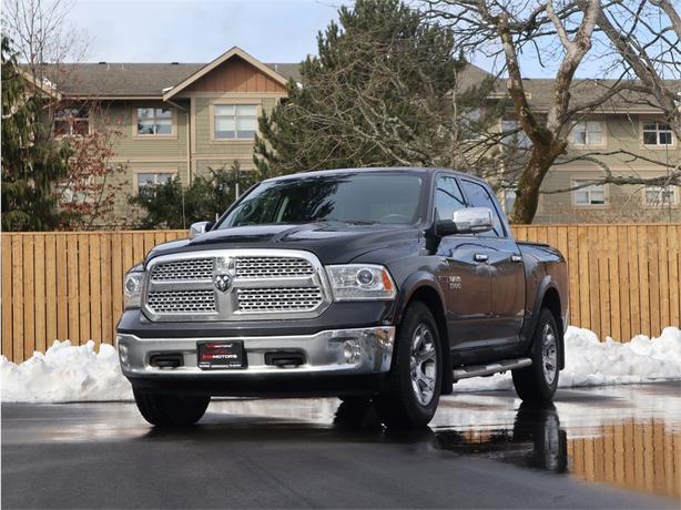 2016 Ram 1500 Laramie 3.0L V6, 4X4, Automatic - DIESEL - FULLY LOADED!