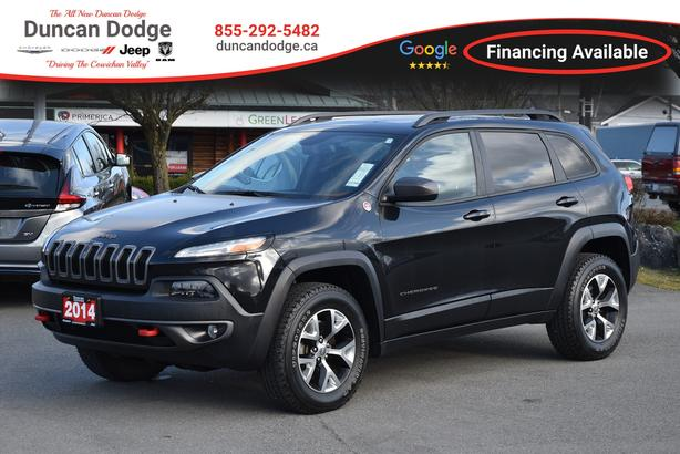 2014 Jeep Cherokee Trailhawk **ONE OWNER**LOW KM**NO ACCIDENTS SUV