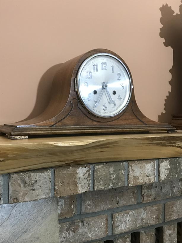 """BlackForest Co. """"Catherdral"""" Mantle Clock"""