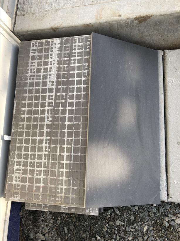 Porcelain floor tile — 32 sq feet