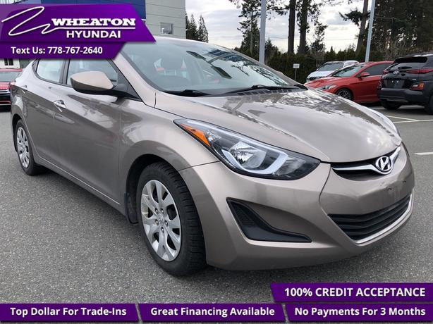 2016 Hyundai Elantra GL - Heated Seats - $60.93 /Wk
