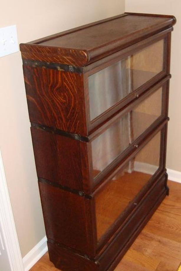 WANTED: Barrister Lawyers Stacking Bookcase Macey Globe Wernicke Antique Oak