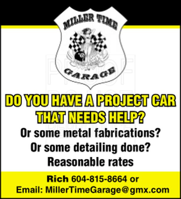 WANTED: Project Car Help