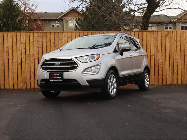 2018 Ford EcoSport SE AWD -  2.0L 4 Cylinder EcoBoost, AWD, Automatic LOW KM'S!