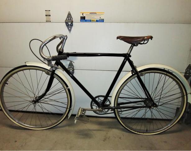 Vintage Single Speed Bike - Restored Raleigh