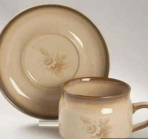 Denby Memories Pattern - Cups & Saucers & Coffee Pot