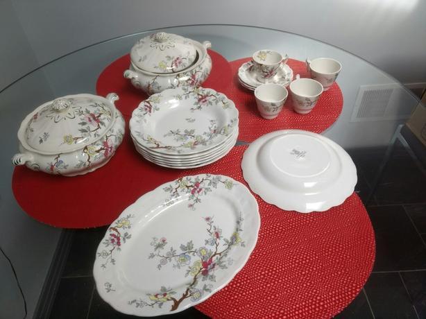 Booths Chinese Tree Dinnerware