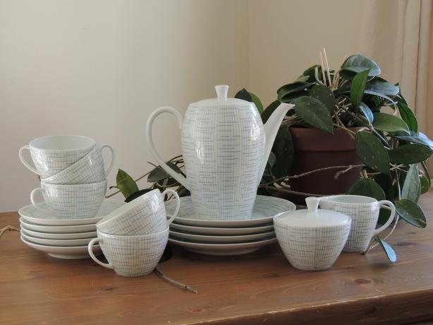 Vintage Melita tea set, excellent condition