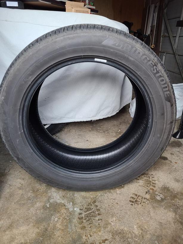 Slightly used 265/50R20 All-Season tires