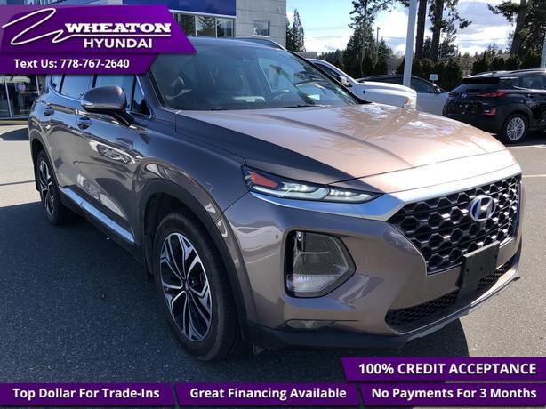 2019 Hyundai Santa Fe 2.0T Ultimate AWD - Navigation - $176.68 /Wk