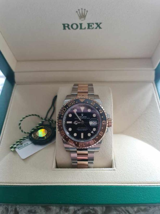 ROLEX GMT-Master II Oyster Perpetual GMT-Master II TWO TONE ROSE GOLD