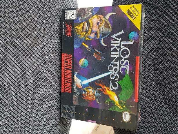 SNES Lost Vikings 2 NES Dragon Warrior 4