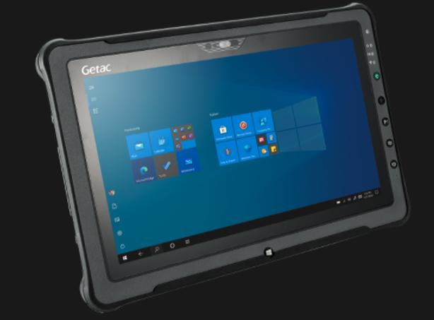 """Getac F110 Fully Rugged 11.6"""" Ultra Bright Sunlight readable Tablet"""