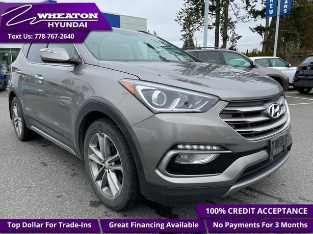 2017 Hyundai Santa Fe Sport Limited - Navigation - $135.22 /Wk