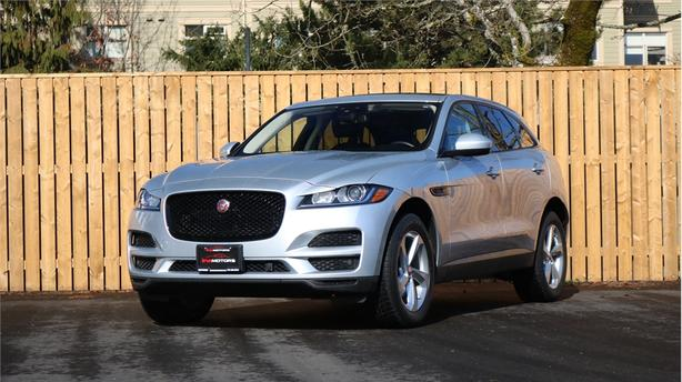 2018 Jaguar F Pace 35T PREMIUM LOADED LEATHER NAV ROOF AWD