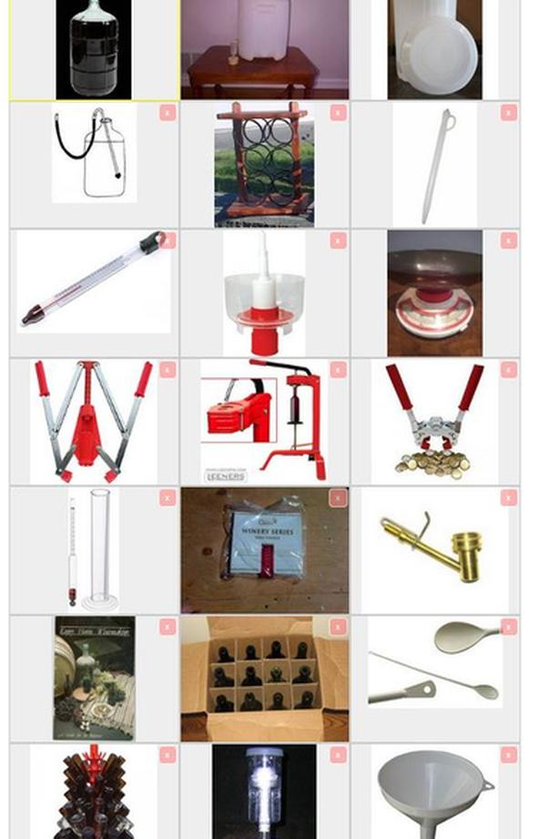 WINE BEER MAKING KIT 214