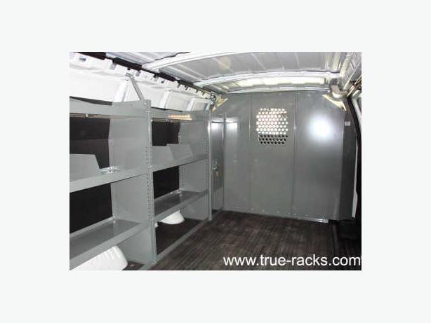 Aluminum, Steel Van Ladder Racks,Shelving, Safety Partitions