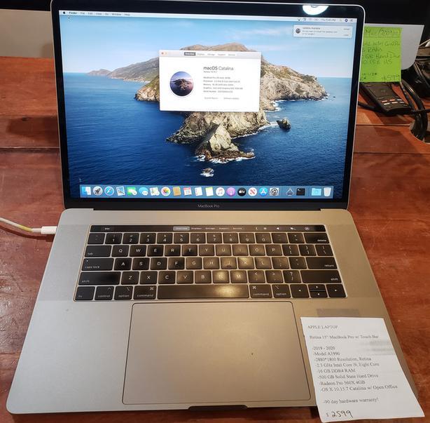 "Retina 15"" MacBook Pro w/ Touch Bar"