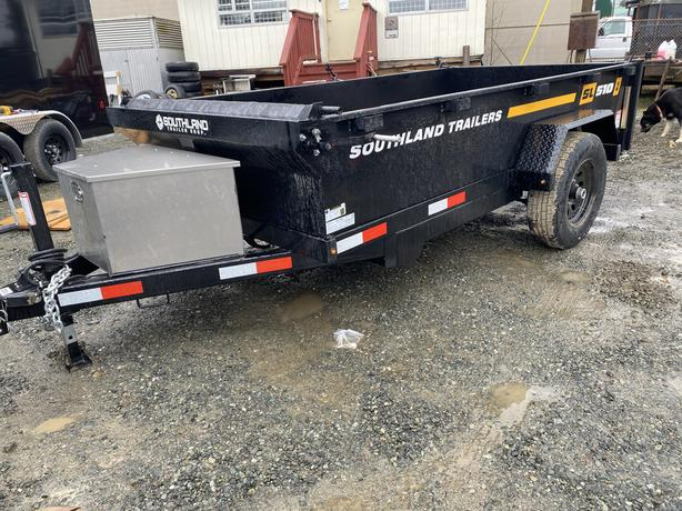 2021 5X10-5200lb GVW Dump Trailer *Single Axle*