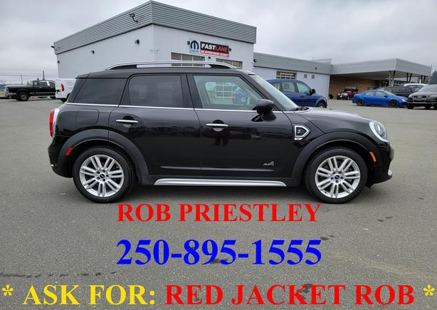 2020 MINI COOPERS COUNTRYMAN AWD * ask for RED JACKET ROB *