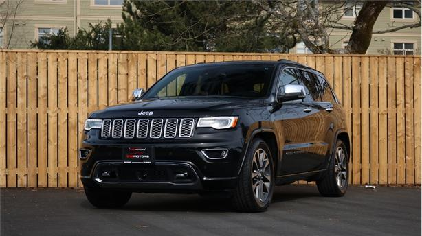 2017 Jeep Grand Cherokee 4WD 4dr Overland - LOT'S OF OPTIONS!