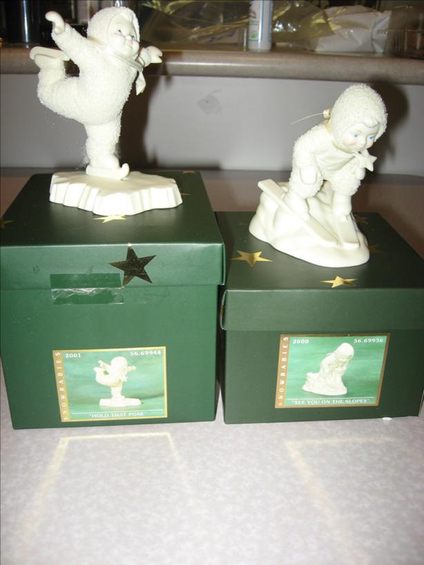 Snowbabies Department 56 Snow Babies Collection Figurines