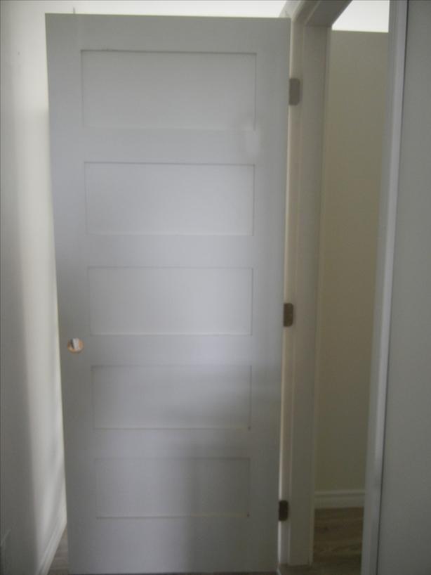 """Pre hung left swing door - Brand new 32"""" x 80"""