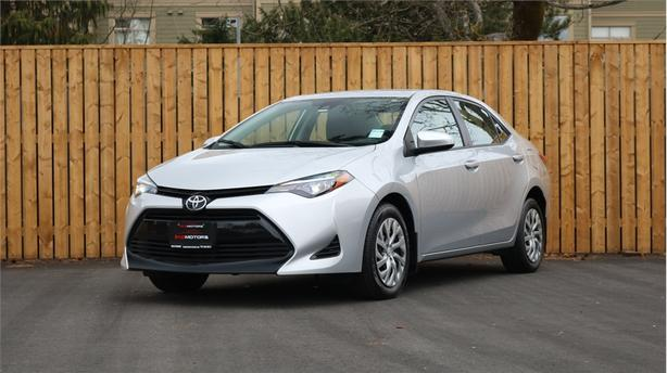 2017 TOYOTA COROLLA LE  1.8L 4 Cylinder, FWD, Automatic - HEATED SEATS!